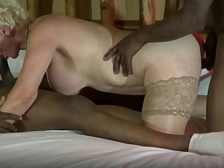 Matured wives reverence BBC