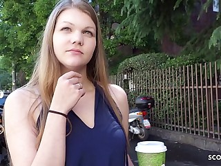 GERMAN SCOUT - ERSTER ANAL SEX FÜR STUDENTIN AMANDA BEI CASTING