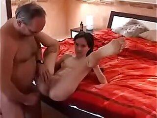 Grandpa fucks a young