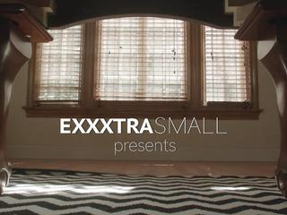 ExxxtraSmall threateningfearsome Small Cheerleader Stretched & Screwed
