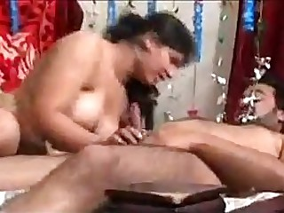 Indian couple gangbang